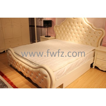 5cm thickness spacer fabric mattress topper with quilted pattern of diamond