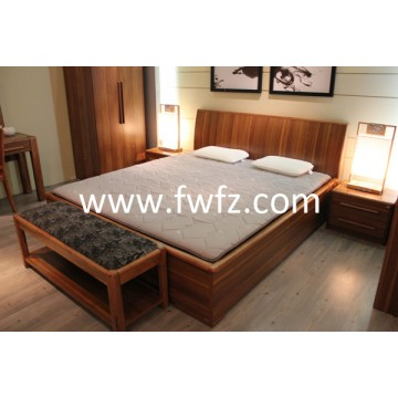 5cm thickness spacer fabric mattress topper with quilted pattern of calabash