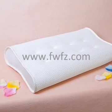 Spacer fabric ergonomical pillow