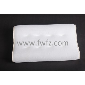 Spacer fabric ergonomical pillow with magnetic sheets