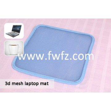 Spacer fabric laptop pad
