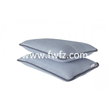 Height adjustable spacer fabric grey pillow