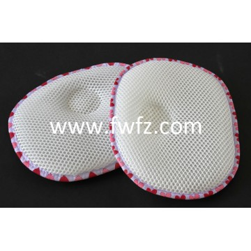 Round pattern spacer fabric baby pillow