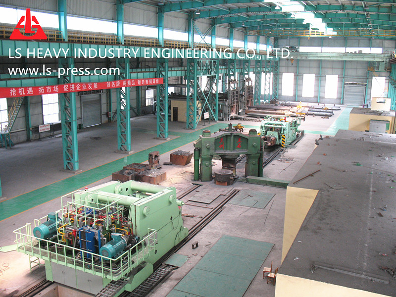 Integrated Open Die Forging Unit,