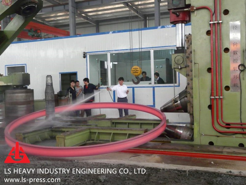 8000mm Radial and Axial Ring Rolling Mill,
