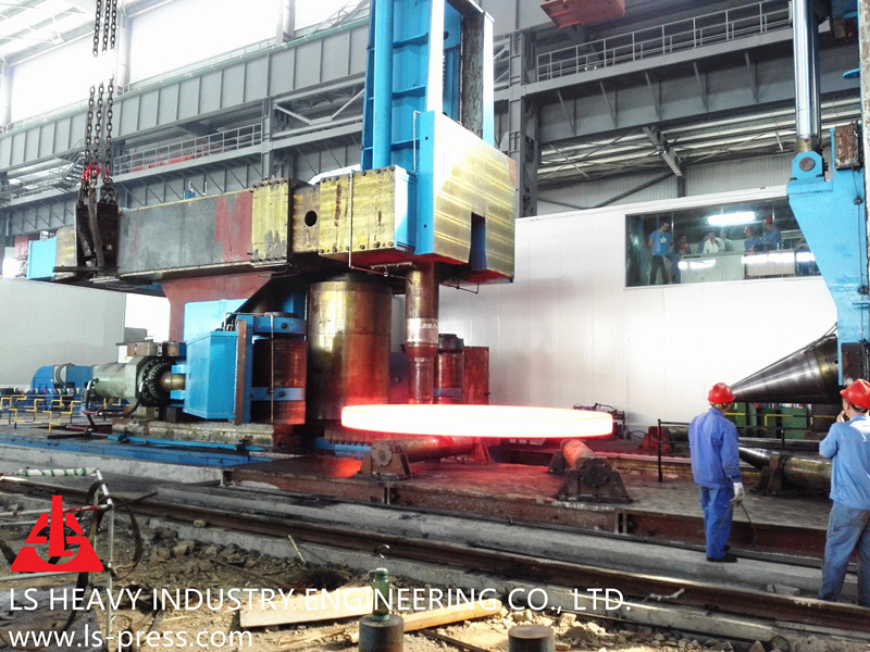 10000mm Radial and Axial Ring Rolling Mill,