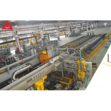 25MN Horizontal Extruding Press