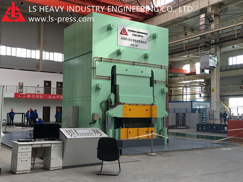 300MN Hydraulic Press for Cold Shaping Sheet Metal,