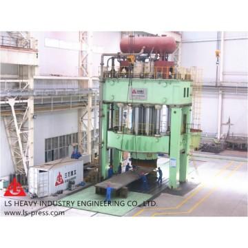 100MN Dished Head Hydraulic Press