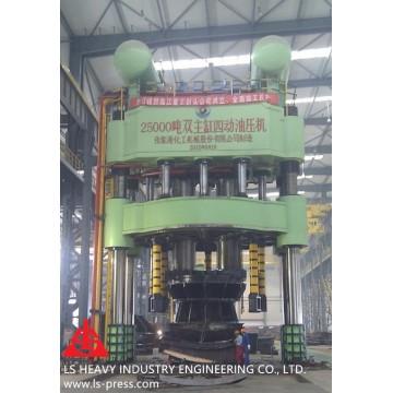 2500MN Dished Head Hydraulic Press