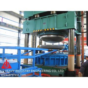 40MN Dished Head Hydraulic Press