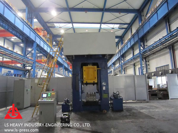 1600kN Direct Motor Drive Screw Press for Hot Forging,