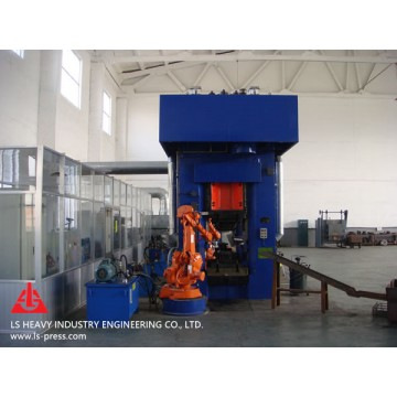 2500kN Direct Motor Drive Screw Press for Hot Forging
