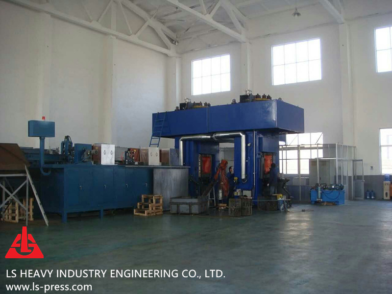 3150kN Direct Motor Drive Screw Press for Hot Forging,