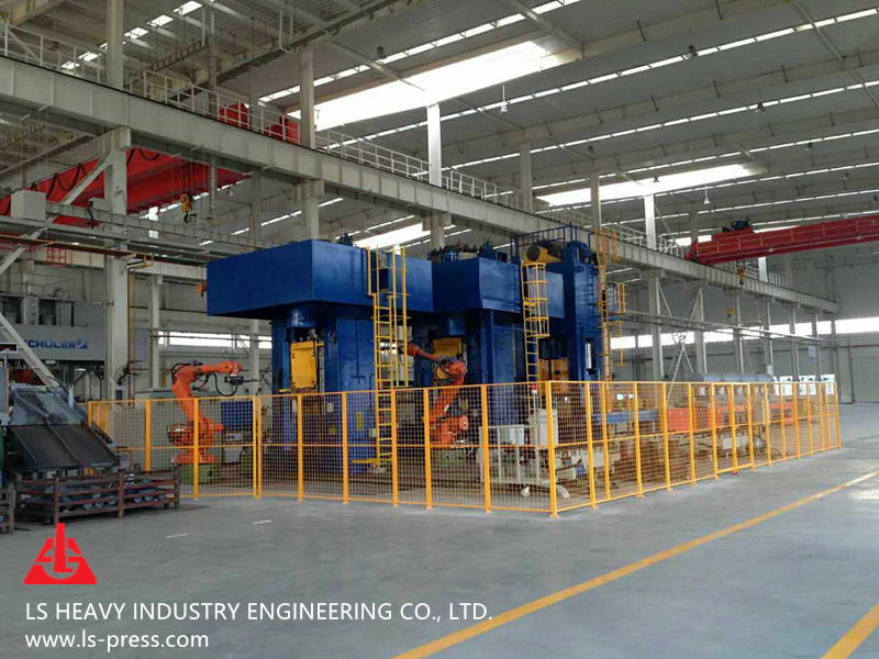 63000kN Direct Motor Drive Screw Press for Hot Forging,