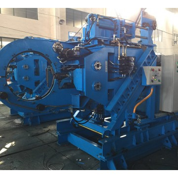 Steel bar strapping machine