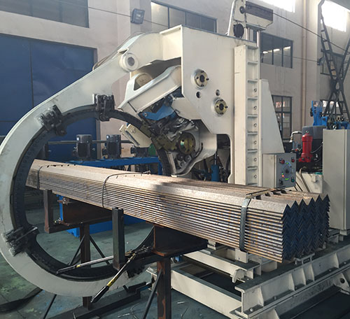 Steel Section Strapping Machine,
