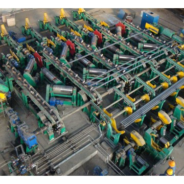 Steel Bar Chamfering Machine