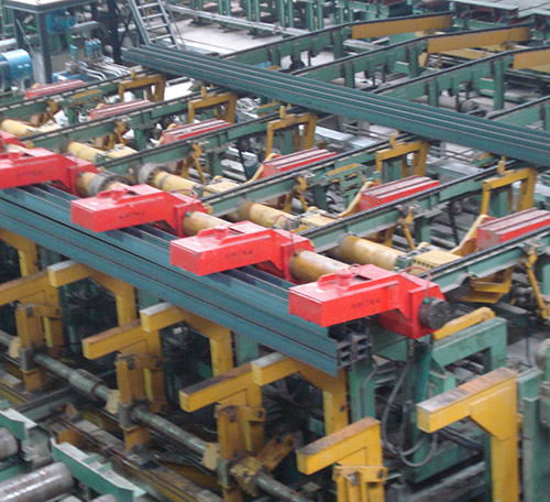 Flat Steel Palletizing Machine,