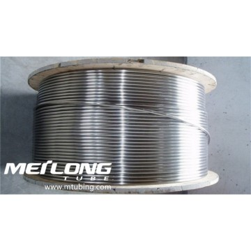 S31603 Stainless Steel Coiled Control Line Umbilical Tubing
