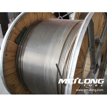 ASTM A269 S31603 Stainless Steel Coiled Umbilical Tubing