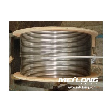 ASME SA269 S31603 Stainless Steel Coiled Hydraulic Control Line Tubing
