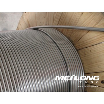 S31603 Stainless Steel Coiled Capillary Hydraulic Control Line Tubing