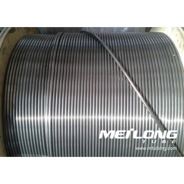 ASTM A269 316L Stainless Steel Coiled Capillary Hydraulic Control Line Tubing