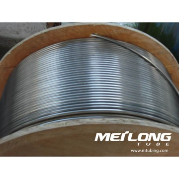 Stainless Steel Coiled Capillary Chemical Injeciton Line Tubing