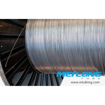 S31603 Stainless Steel Coiled Capillary Chemical Injeciton Tubing