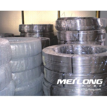 316L Stainless Steel Coiled Capillary Umbilical Tubing
