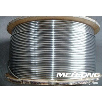 ASME SA269 316L Stainless Steel Coiled Capillary Chemical Injection Umbilical Tubing