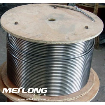 ASTM A269 316L Stainless Steel Coiled Capillary Umbilical Tubing