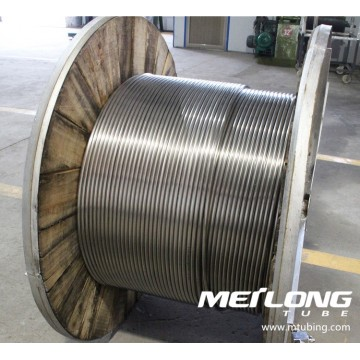X2CrNiMo17-12-2 Coiled Downhole Control Line Tubing