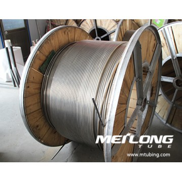 S32750 Coiled Downhole Control Line Tubing