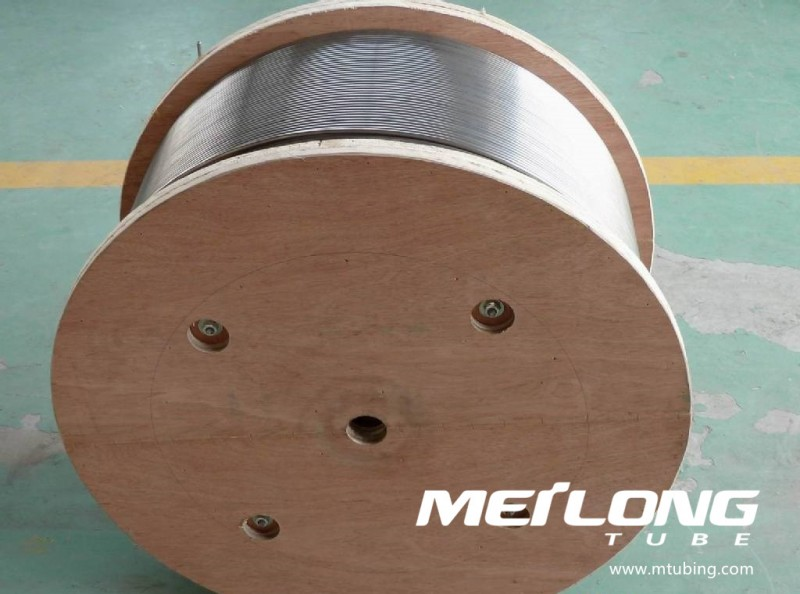 N06625 Coiled Capillary Downhole Tubing,