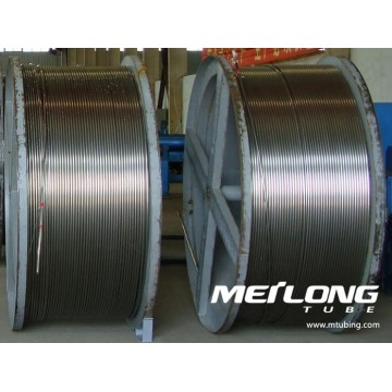 ASTM A789 S32205 Duplex Stainless Steel Coiled Control Line Tubing
