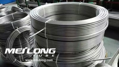 S32750 Stainless Steel Coiled Chemical Injeciton Line,
