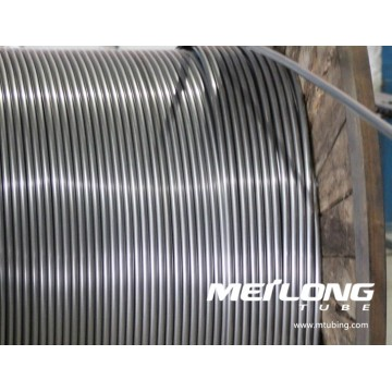 Duplex 2507 Stainless Steel Coiled Chemical Injeciton Line Tubing