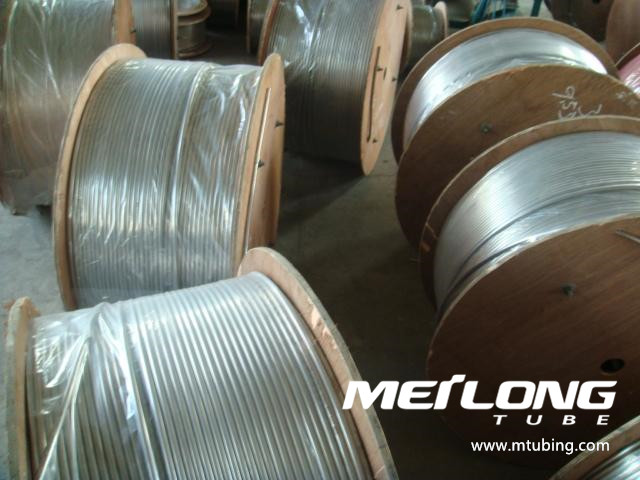 ASME SA789 S32750 Duplex Stainless Steel Coiled Umbilical Tubing,