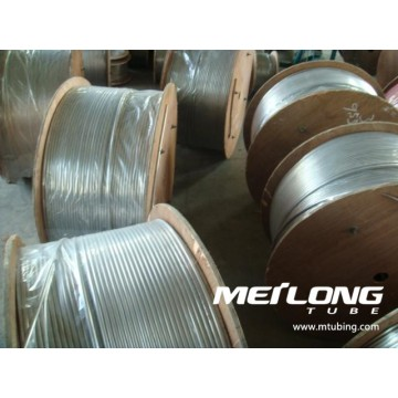 ASME SA789 S32750 Duplex Stainless Steel Coiled Umbilical Tubing