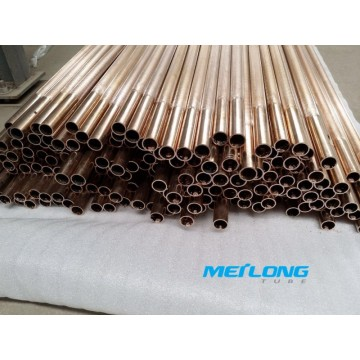 C70600 Copper Nickel High Flux Tubes for Heat Exchangers