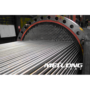 ASTM A249 304 Welded Stainless Steel Heat Exchanger Tube