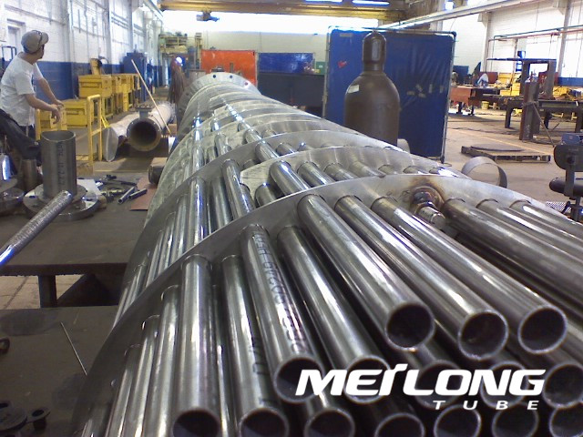 ASTM A249 304L Welded Stainless Steel Heat Exchanger Tube,