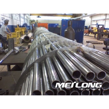 ASTM A249 304L Welded Stainless Steel Heat Exchanger Tube