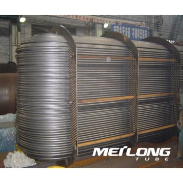 ASTM A249 316 Welded Stainless Steel Heat Exchanger Tube
