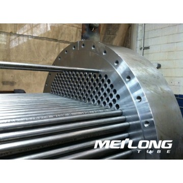 ASTM A249 316L Welded Stainless Steel Heat Exchanger Tube