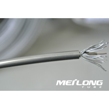 Tubing encapsulated conductor cable