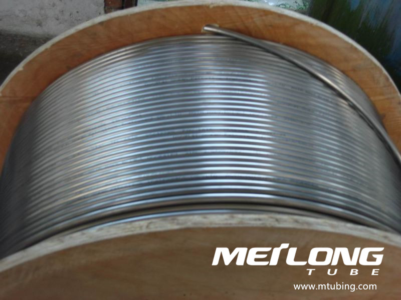 Coiled Stainless Steel Tubing for Control Line,