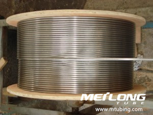 316L Duplex 2205 Alloy 825 Alloy 625 Coiled Tubing for Control Line,